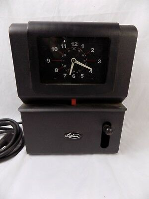 Lathem Time Corp. Vintage Time Clock Model 2121 (NO KEY)Industrial Punch Card