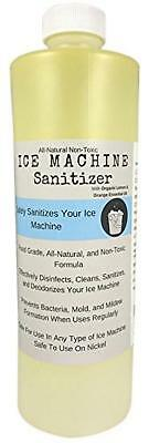 Ice Machine Sanitizer 16 oz | Nickel-Safe Non-Toxic Cleaner Universal Maker...