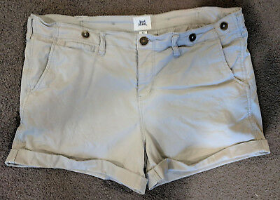 Just Jeans Shorts This years Fashion Size 14 khaki