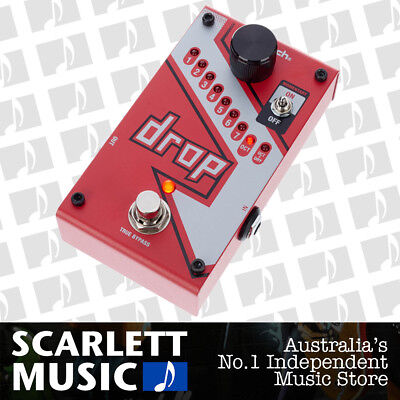 Digitech DROP Tune Compact Polyphonic Pitch Shifter Whammy Effects Guitar Pedal