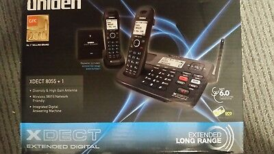 NEW Uniden Dect 8055+1 Extended Digital Technology Cordless Phone System RRP$168