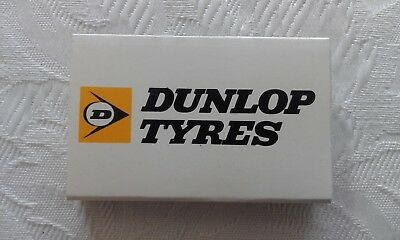 Hanna Match boxes x2 advertising dunlop/olympic tyres 1980s