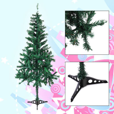 New 5Ft Artificial PVC Christmas Tree Green with Stand Xmas Holiday Decoration