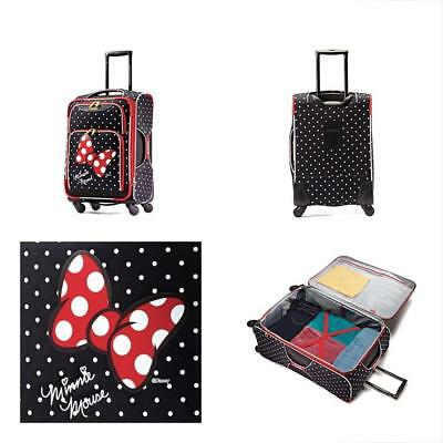 2b62997d24d9 American Tourister Disney Minnie Mouse Red Bow Softside Spinner 21, Multi,  One