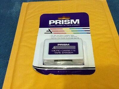 Prism Micro Cassette Tape Eraser For Micro & Mini Cassette Tapes