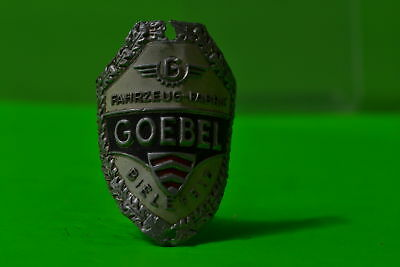 Vintage bicycle - Tablet Logo of the manufacturer-Goebel-4472