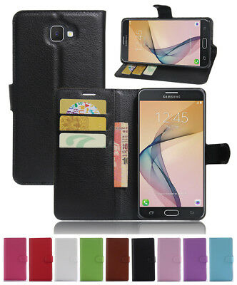 For Samsung Galaxy J7 Prime 2 G611F DS PU Leather Wallet Flip Case Cover