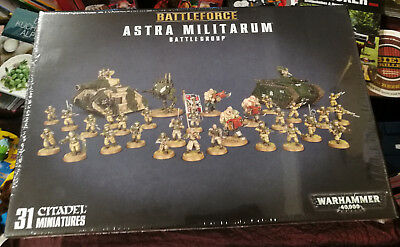 Warhammer 40.000, Battleforce: Astra Militarum Battlegroup OVP