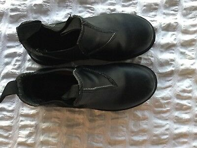 Ever Flex - Kids Black Leather Pull On Boots - Size 11 - Exc Condtion