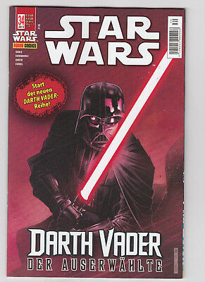 PANINI: STAR WARS August 2017 Nr. 34 - Darth Vader: Der Auserwählte, ungelesen