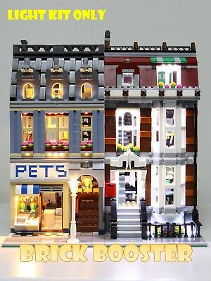 Storage System for Lego PET SHOP Custom ORGANIZER Modular Building Set 10218