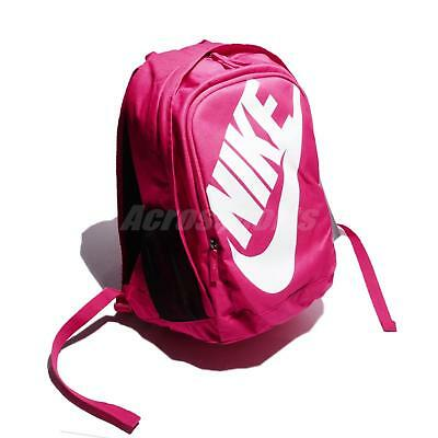 Nike Hayward Futura M 2.0 Pink White Swoosh Women Backpack Bag BA5217-694 25ec6f8de1b2f