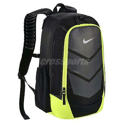 d4e56a8bf4 Nike Vapor Speed Black Green Gym School Mens Training Backpack BP Bag  BA5247-010