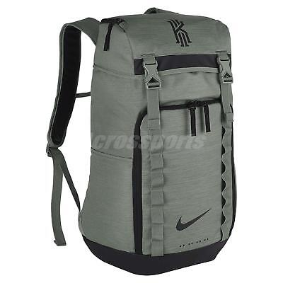 d804345ed435 Nike Kyrie Irving Uncle Drew Clay Green Black Men Basketball Backpack  BA5449-365