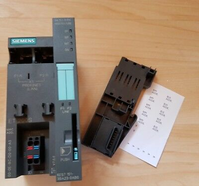 Siemens Simatic IM 151-3 PN HF Interface Module 6ES7 151-3BA23-0AB0 ET200S cpu