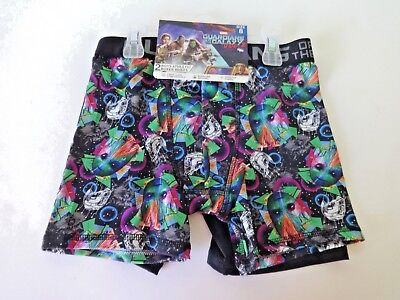 Guardians Of The Galaxy Boys Athletic Boxer Briefs Size 8 2 Pack