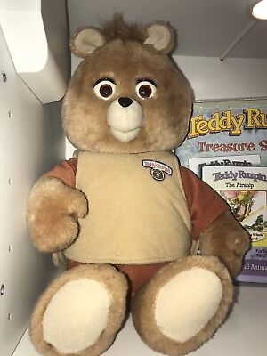 Vintage 1985 Teddy Ruxpin, The World's First Animated Talking Toy!