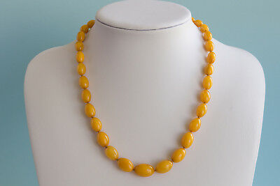 Bernsteinkette Baltic amber necklace collier d'ambre 琥珀項鍊 Länge 51cm (20,07in)