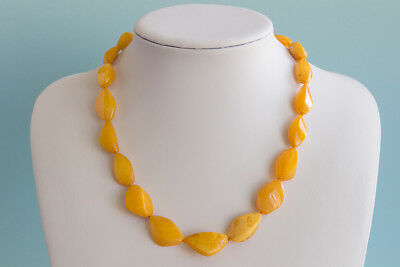Bernsteinkette Baltic amber necklace collier d'ambre 琥珀項鍊 Länge 50,5cm(19,88in)