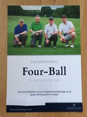 Golf Voucher For 4 People At Birchwood Park Golf Course