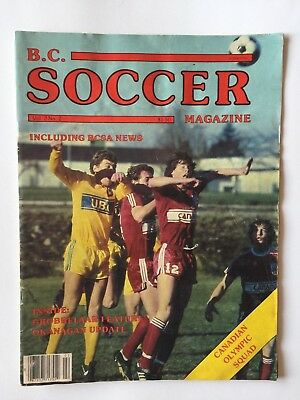 B.c. Soccer Magazine April/may 1982