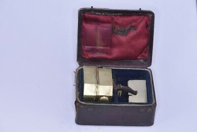 Mid-19th Century Scarificator Bleeder 6 Blades with Custom Case By Savigny & Co.