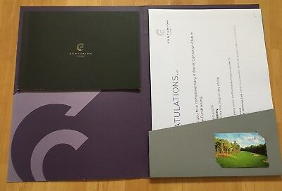 Voucher For 4 People At Centurion Golf Club(once In A Lifetime Opportunity)