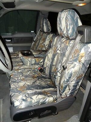 Durafit Seat Covers F369 XD3 2004-2008 Ford Truck F150 Xcab Front 40/20/40 Camo