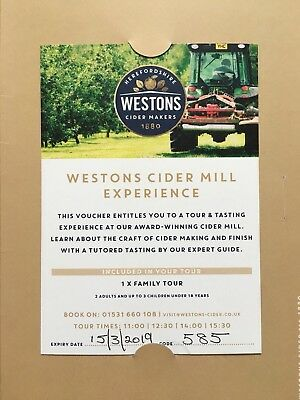 Family Tour Of Westons Cider Mill Experience