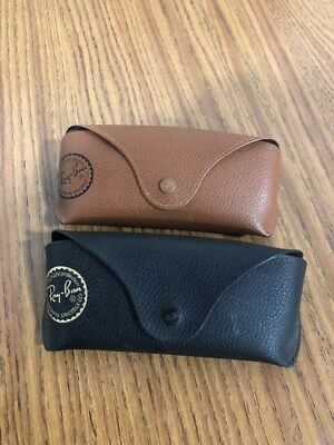 Pack Of Two Ray Ban Suglasses Case Canister