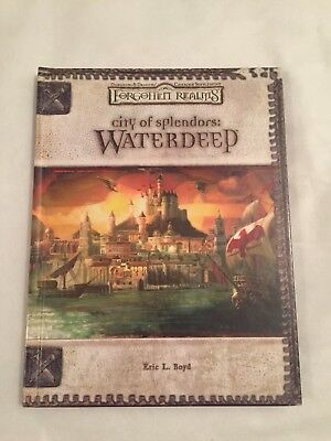City of Splendors:Waterdeep Forgotten Realms Dungeons & Dragons Hardcover Buch