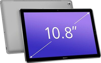 """Huawei MediaPad M5 Octa Core 10.8"""" IPS Android 8.0 Grey 32GB Tablet, Bluetooth"""