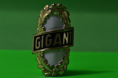 Vintage bicycle - Tablet Logo of the manufacturer-Gigant-4474