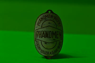 Vintage bicycle - Tablet Logo of the manufacturer-Phanomen-4476