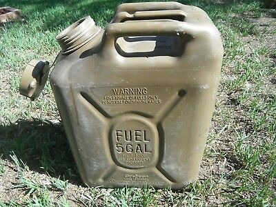 SCEPTER Field Drab Green Jerry Gas Can Fuel REAL Military MFC 5g 20L JEEP ARMY A