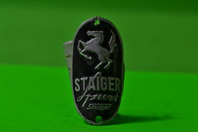 Vintage bicycle - Plaque Logo of the manufacturer-Staiger-4478