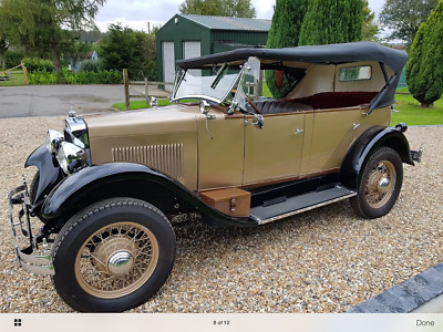 1927 Studebaker Erskine open tourer Model 30. Make ideal wedding car.