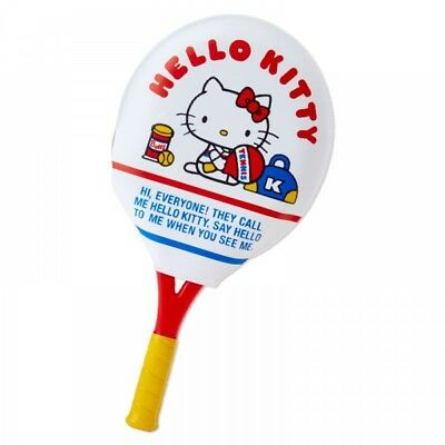 New Sanrio Hello Kitty racquet type mirror & comb (tennis) From Japan F / S