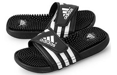 Slides White Sandals Mens Adidas Nib amp; Adissage I Black Massage Sq0wF1I