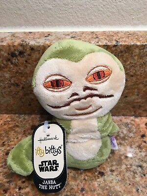 HALLMARK Itty Bitty Bittys Jabba The Hut Star Wars New Tags Very Hard to Find