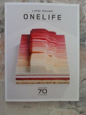 Land Rover Onelife - Land Rover 70 Years One Life - Ausgabe 33