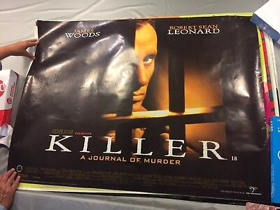 Original Cinema Quad Poster 1995 Killer James Woods Robert Sean Leonard