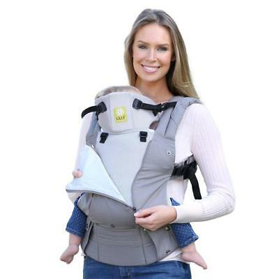 Lillebaby Complete Baby Carrier All Seasons in Stone 100 Cotton 3 D Mesh