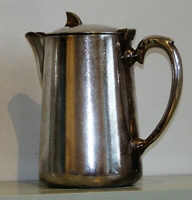 Antique Royal Military Broad Arrow Silver plate Teapot Coffee Pot Tea Soldiers