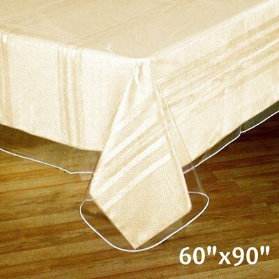 Clear Vinyl Plastic Tablecloth Protector Table Cover Table Linens