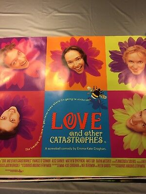 Original Cinema Quad Poster 1997 Love and other Catastrophes Frances O'Connor