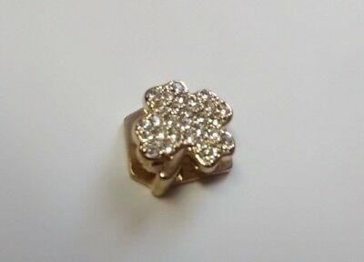 KEEP COLLECTIVE Pave GOLD Clover - Find your luck ! Retired and SOLD OUT