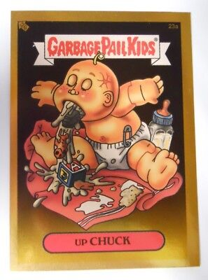 c6b199abf39 2003 Topps Garbage Pail Kids Series 1 Gold Foil Trading Card  23a-Up Chuck