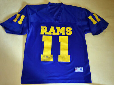 ★ Los Angeles RAMS Football Shirt Officially Product Vintage ★ Souvenir U.S.A. ★