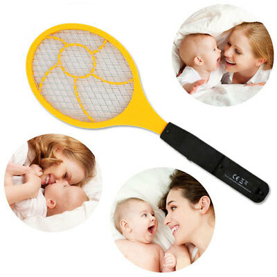 Flyswatter Electric Mosquito Swatter Handheld Practical Red Blue 44 *15.5 * 4cm
